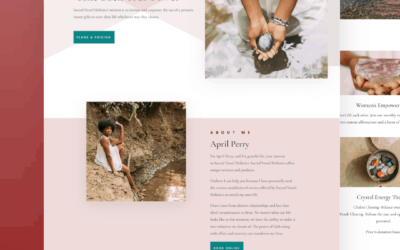 Site Launch: Life Coach Website for Sacred Vessel Holistics