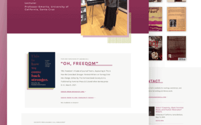 Site Launch: Akasha Hull, Author Website