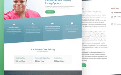 Site Launch: K's Private Care