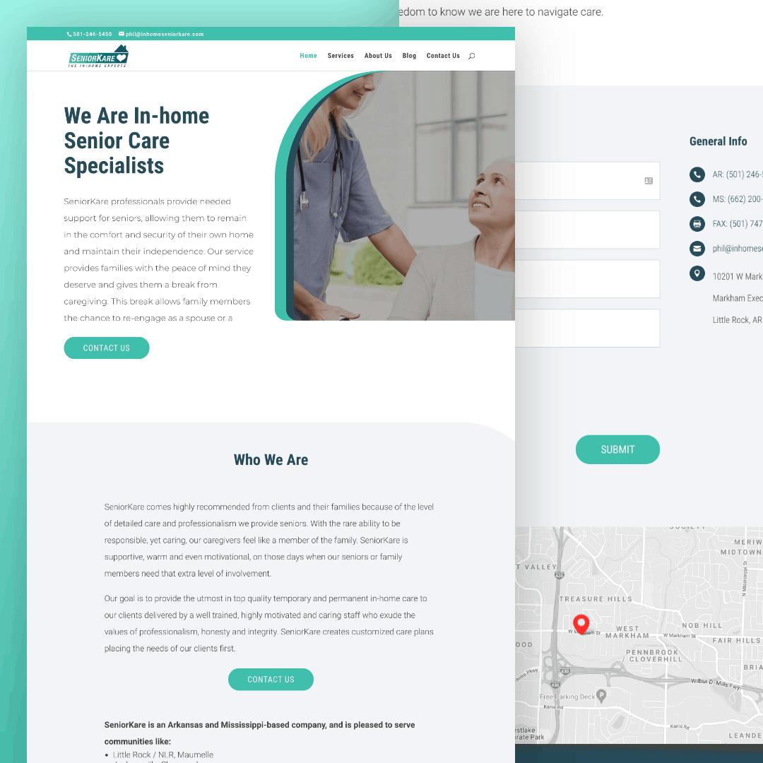 SeniorKare Senior Living Web Design